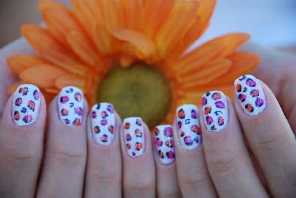 Glitter nail designs 46