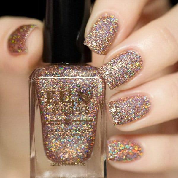 Shine Bright like daimond Glitter nail designs