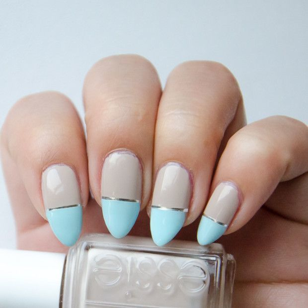 Sky Blue blue nail design your favorite