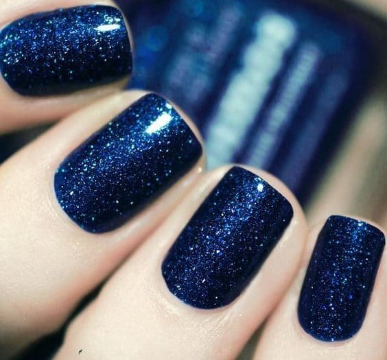 45 Epic Light Navy Royal Blue Nail Designs For Classy Girls June