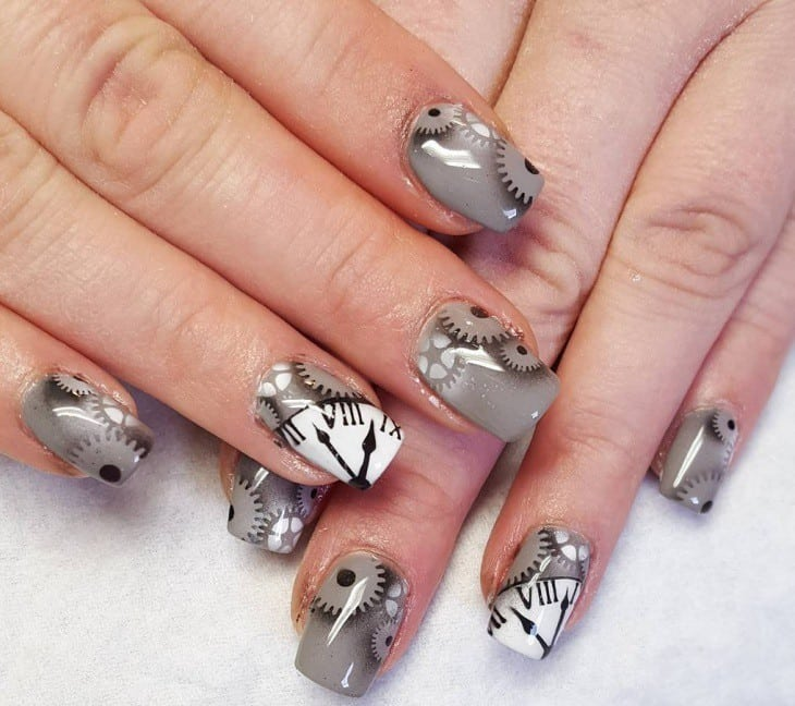 20 fascinating light green maroon airbrush nails light green maroon airbrush nail designs 18 prinsesfo Gallery