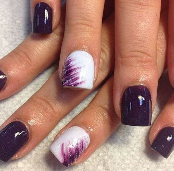 Purple Nail Designs 13