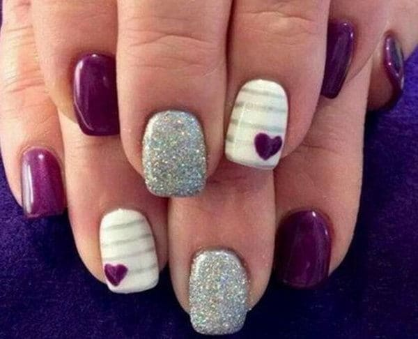 Little Hearts Designs nail for girl