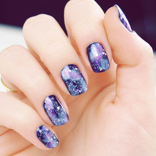Purple Nail Designs 17
