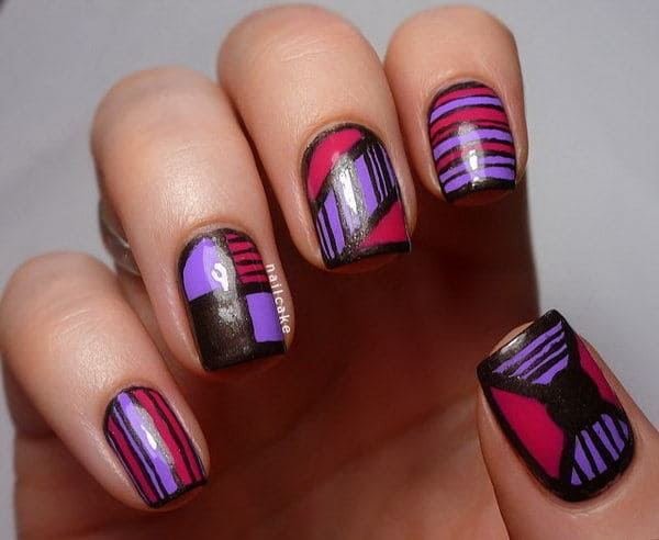 Purple Nail Designs 19