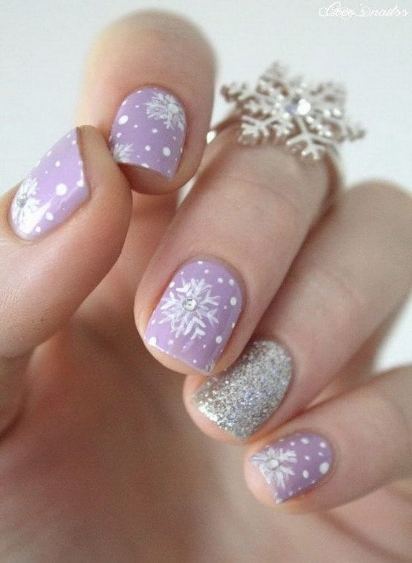 Purple Nail Designs 27