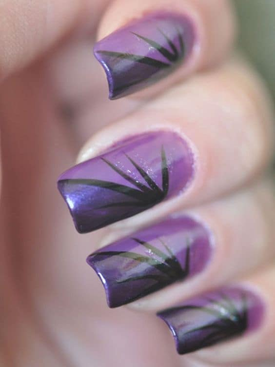 Purple Nail Designs 29