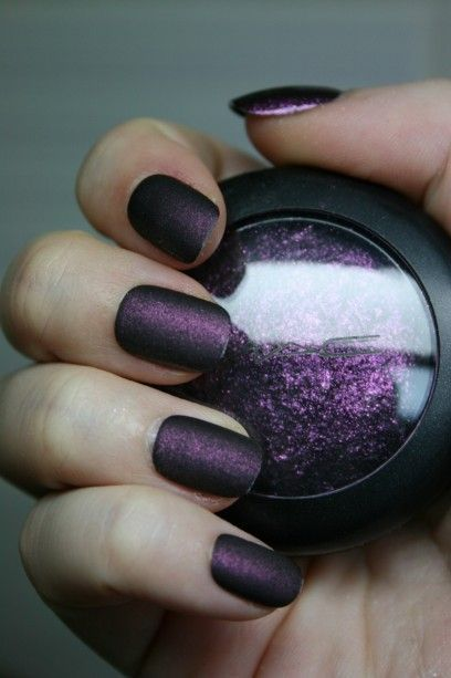 Purple Nail Designs 31