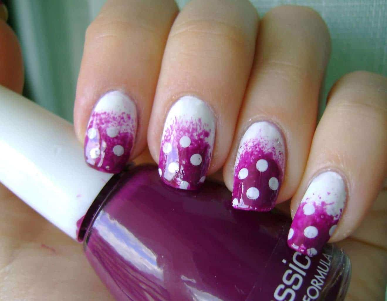 Purple Nail Designs 39