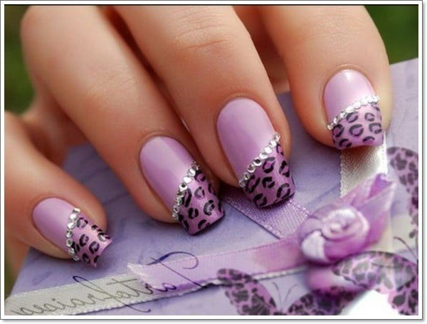 Purple Nail Designs 41