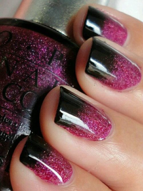 Purple Nail Designs 43