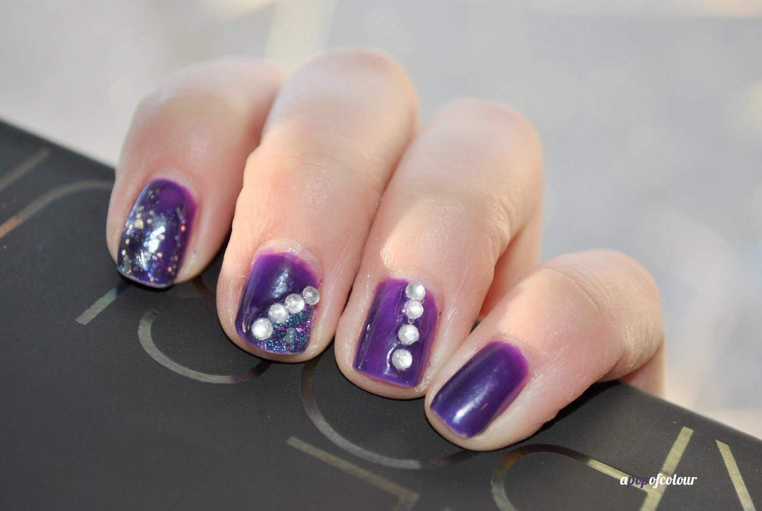 Purple Nail Designs 51