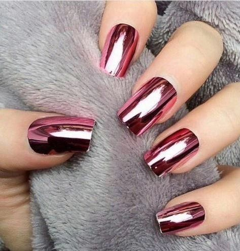 Blush Lush red nails designs