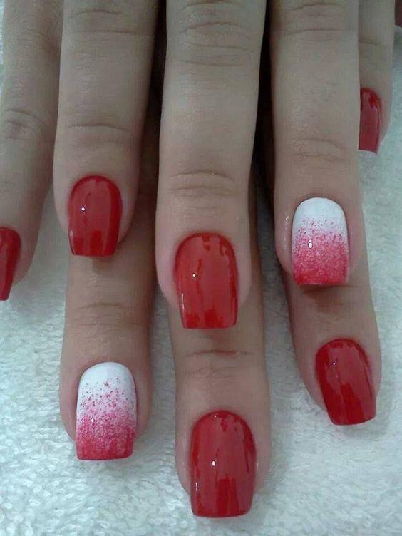 Red Nail Designs 1