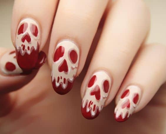 Red Nail Designs 10