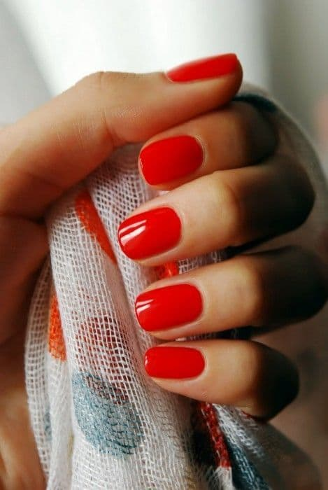 Rose Red nail for women