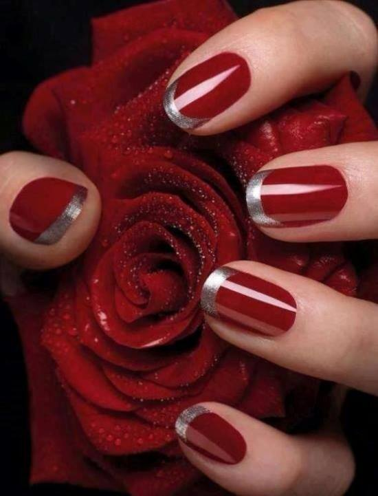 Red Nail Designs 14