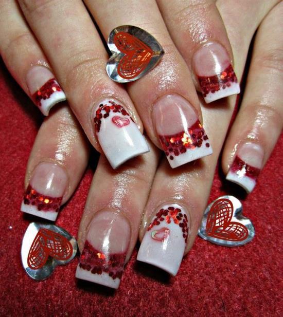 Red Nail Designs 19