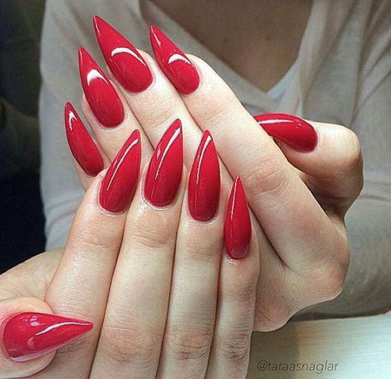 Red Nail Designs 31 - 70 Red Nail Designs To Fall In Love With – NailDesignCode