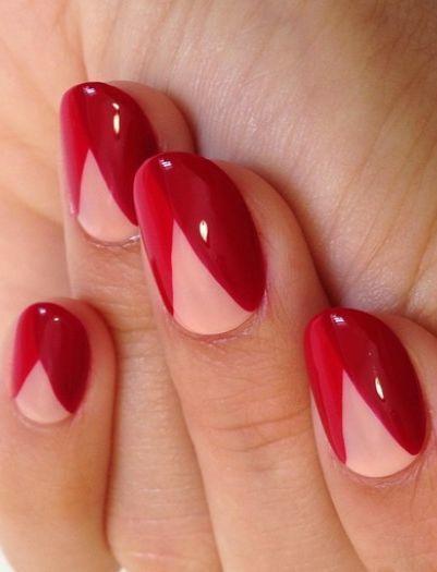 Red Nail Designs 33