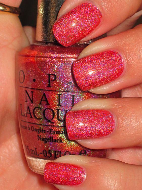Red Nail Designs 4