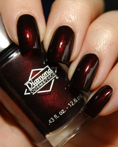 Gothic Red Nail Designs - 70 Red Nail Designs To Fall In Love With – NailDesignCode