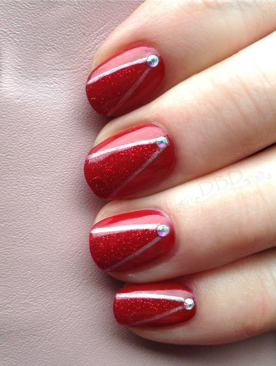 Red Nail Designs 51