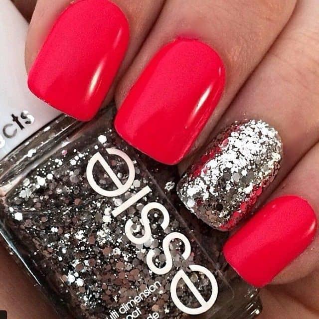 Red Nail Designs 7