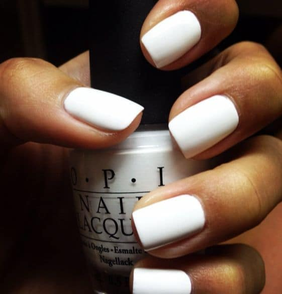 White as Snow Nail Designs for Women