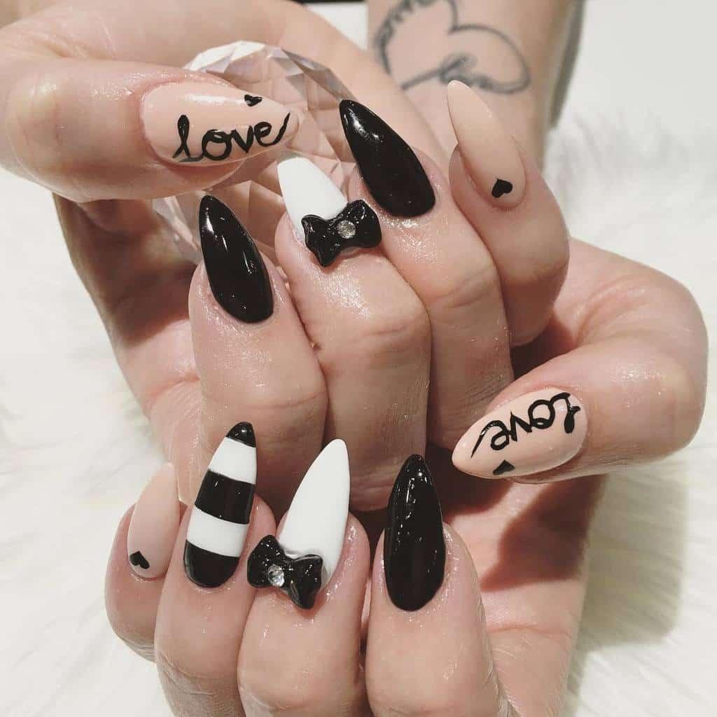 White nail designs 20