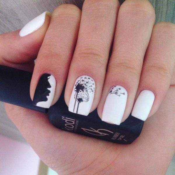 White nail designs 25