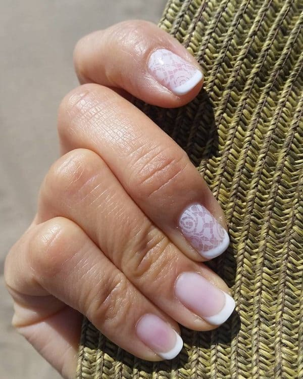 White nail designs 26