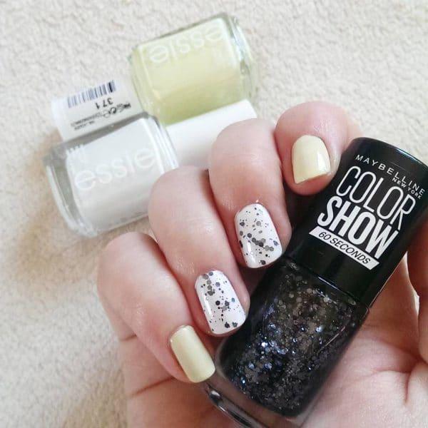 White nail designs 28