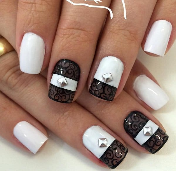 White nail designs 31