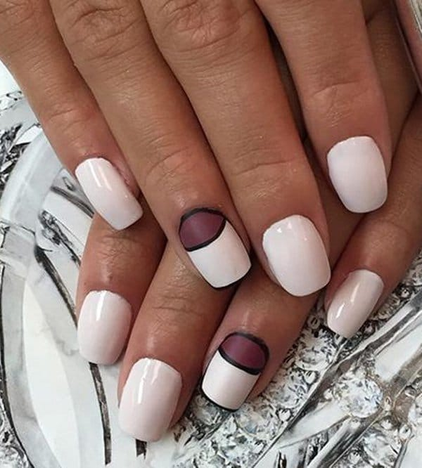 White nail designs 32