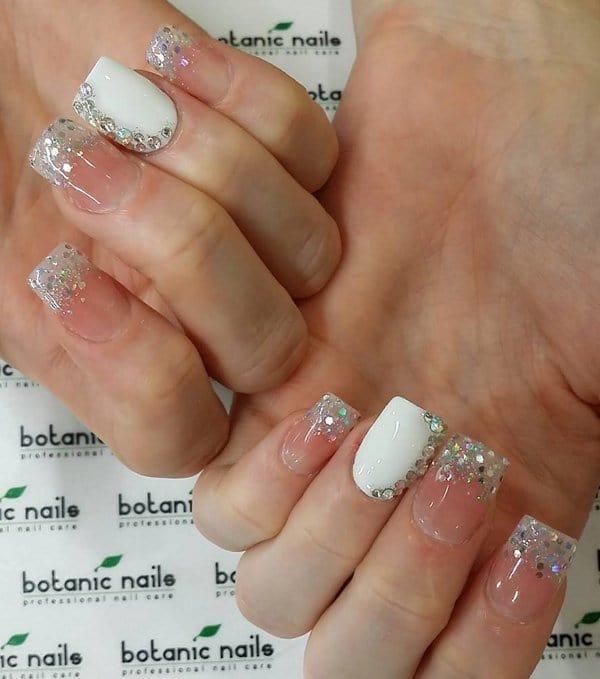 White nail designs 33