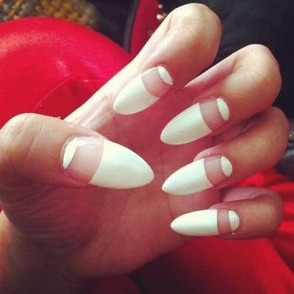 White nail designs 36