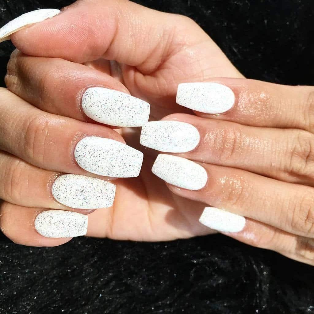 White nail designs 42