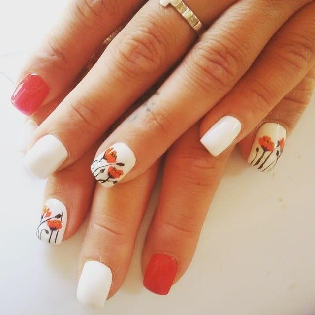 White nail designs o9