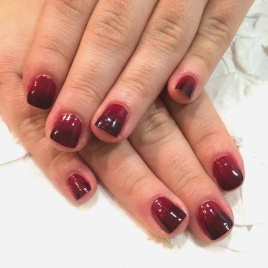 burgundy nail designs 10