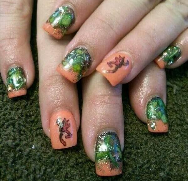 camo nail designs 10