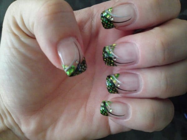 camo nail design ideas for girls
