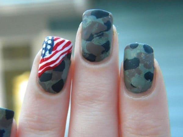 camo nail designs 3