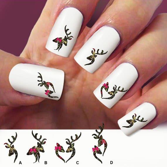 camo nail designs 4