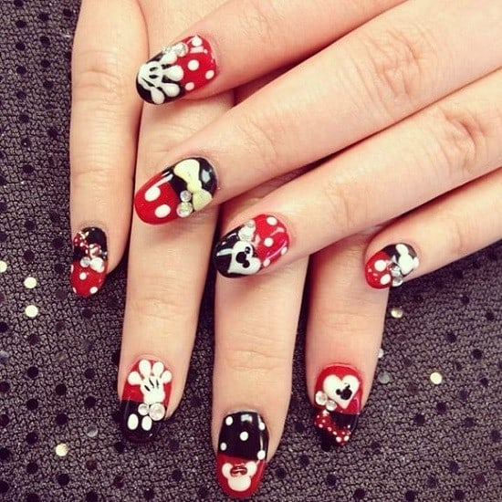 disney nail designs 1 - 32 Magical Disney Nail Designs You'll Adore – NailDesignCode