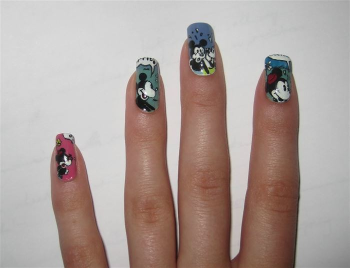 favorite disney nail designs