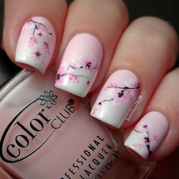 floral nail designs 5
