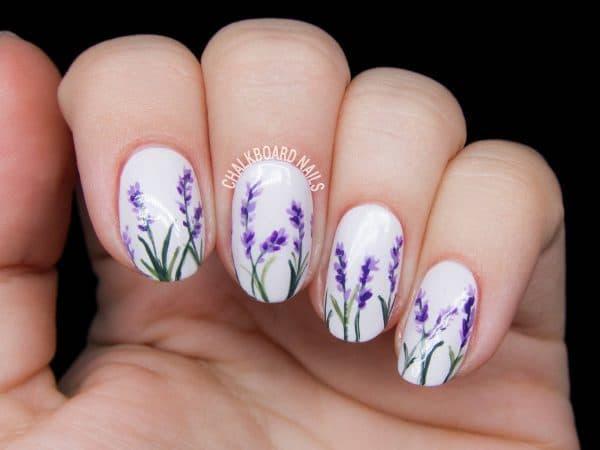 floral nail designs 6