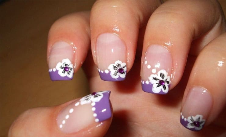 french tip nail designs 13