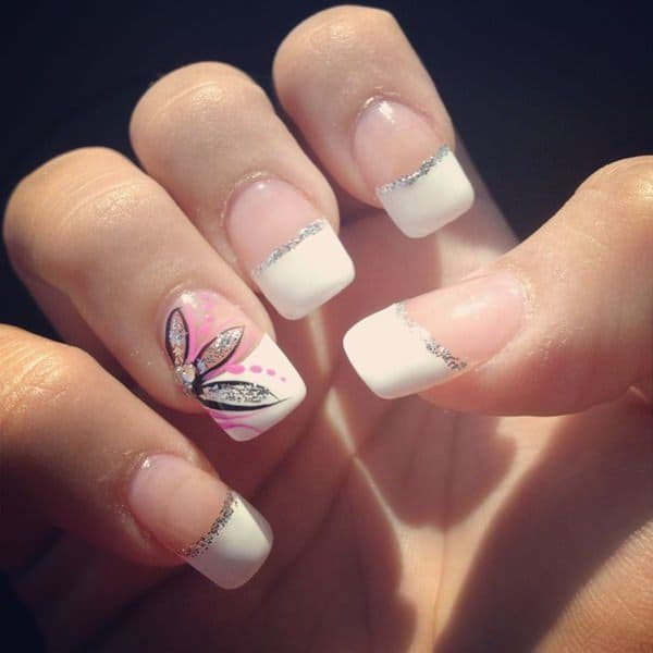 french tip nail designs 17